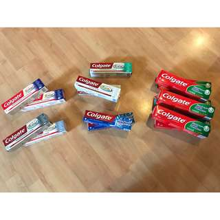 Limited stocks! Assorted Colgate toothpaste.