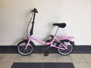 Small children bicycle