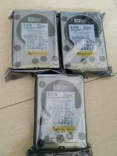 """Brand New Western Digital RE4 3.5"""" 2TB SATA HDD WD2003FYYS"""