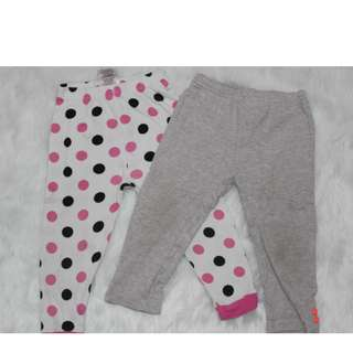 Take 2 leggings and pajama for baby girls