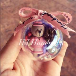 Starbuck Bear Crystal Ball