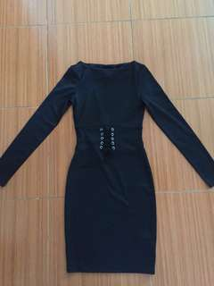 Dress Black (H&M)