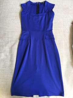 Dorothy Perkins Royal Blue Sleeveless Dress