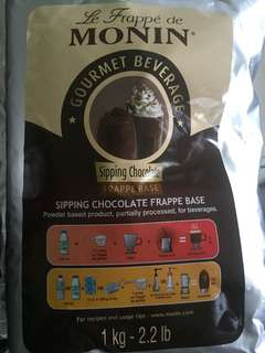 Monin Frappe Mix - Sipping Chocolate -  3 available