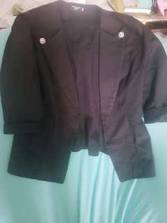 Black Blazer#button