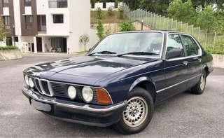 BMW E23 728i RARE