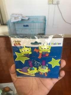 Toy Story 三眼仔 線圈 Cord Holder