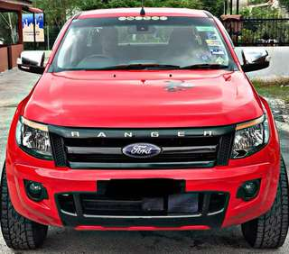 FORD RANGER 3.2 TURBO (M) 6 SPEED