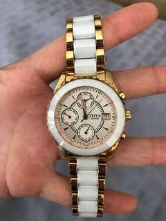 Titus Women Ceramic Chain watch