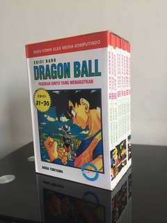DRAGON BALL FULLSET ( 21-30 )