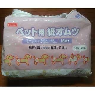 日本inuneru 寵物尿褲免洗L號 生理褲 尿布