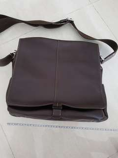 Coach Bag Full Leather Messenger
