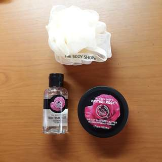 Body Butter, Shower Gel, Bath Lily