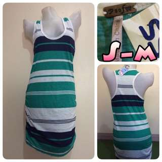 Poof Striped Dress