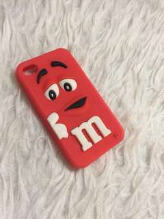 iPhone 4 / 4+ M&M's Case
