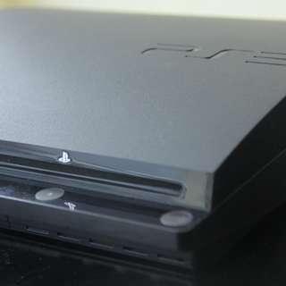 Sony PlayStation 3 Slim Launch Edition 320GB Charcoal Black Console (CECH-2506B)