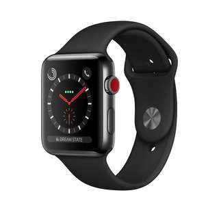 Apple Watch Series 3 stainless steel GPS + Cellular
