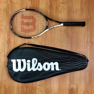 Wilson Blade Team BLX tennis racket w/ cover