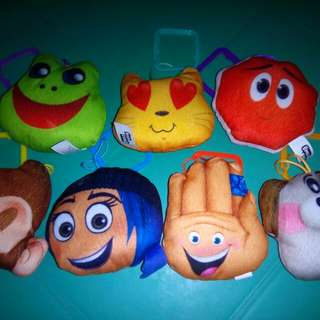 Mcdonalds Emoji Plushies