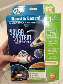Leap frog Read and Learn Solar System