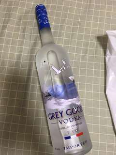 1L 1000ml Grey goose French vodka 灰雁 法國伏特加 1L 1000ml
