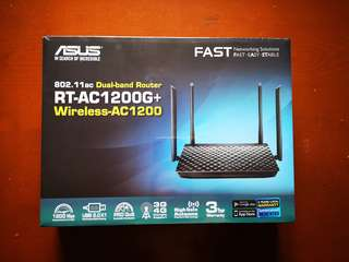 Asus 802.11ac dual-band Router RT-AC1200G+