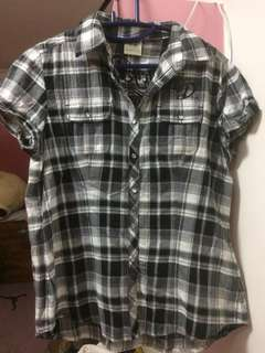 (S) Authentic Harley Davidson flnnel shirt