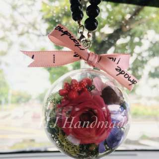 Preserve Flower Crystal Ball