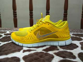 Nike Free Run 3 Chrome Yellow no vans asics Adidas Converse new balance