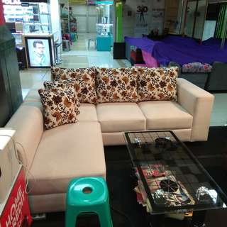 sofa L murah bisa cash and credit