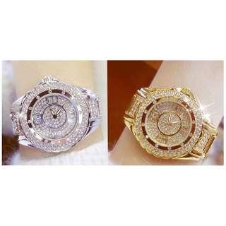 💯 Diamond Wrist Women Ladies Luxury Brand Rhinestone Quartz Watch For Women