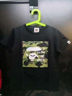 Bape Kids Wear Tee