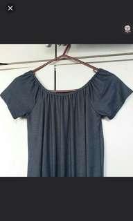 off shoulder jumpsuit