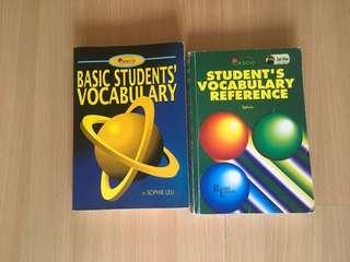 English vocabulary for 2
