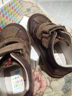 Clarks first baby shoes