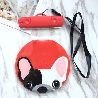 手機防水袋(尺寸5.5寸內都可用) : 可愛鬥牛犬款