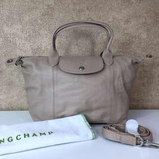 LongChamp 1512737484 LE PLIAGE CUIR SMALL SHOULDER BAG