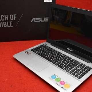 Promo Cicilan Laptop Asus X555QG amd a12 R7+R5 Cukup bayar 1juta (HP)