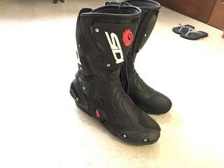 SIDI Vertigo Motorbike Boots - Size 10 - Like New