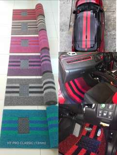 ADIDAS CARPET FOR SEDAN CAR