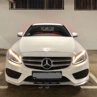 Mercedes-Benz C180 Saloon Auto AMG Line