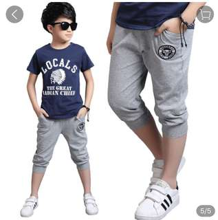 Boy leisure pant