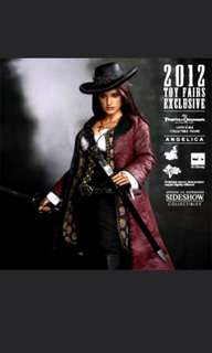 Hot toys pirates of carribean angelica