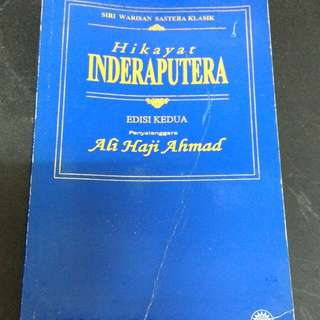 HIKAYAT INDERAPUTERA BOOK BUKU
