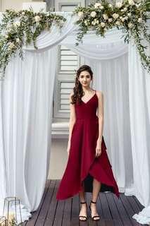 Lovely in a wrap dress
