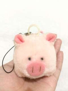 Pig keychain stuffed toy