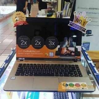 Promo cicilan Laptop Asus X441NA 2gb Cukup Bayar 550ribu (accer)