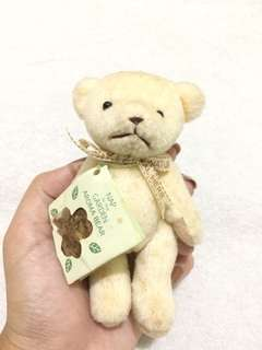 Bear keychain stuffed toy