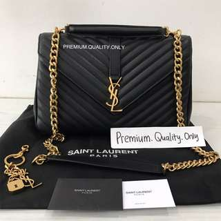 Ready Stock YSL college bag