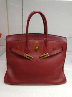Hermes birkin 35 rough H